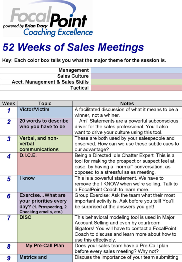 Download Sales Meeting Agenda Template for Free - TidyTemplates