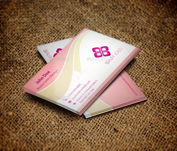 Sample Beauty Salon Business Card Template
