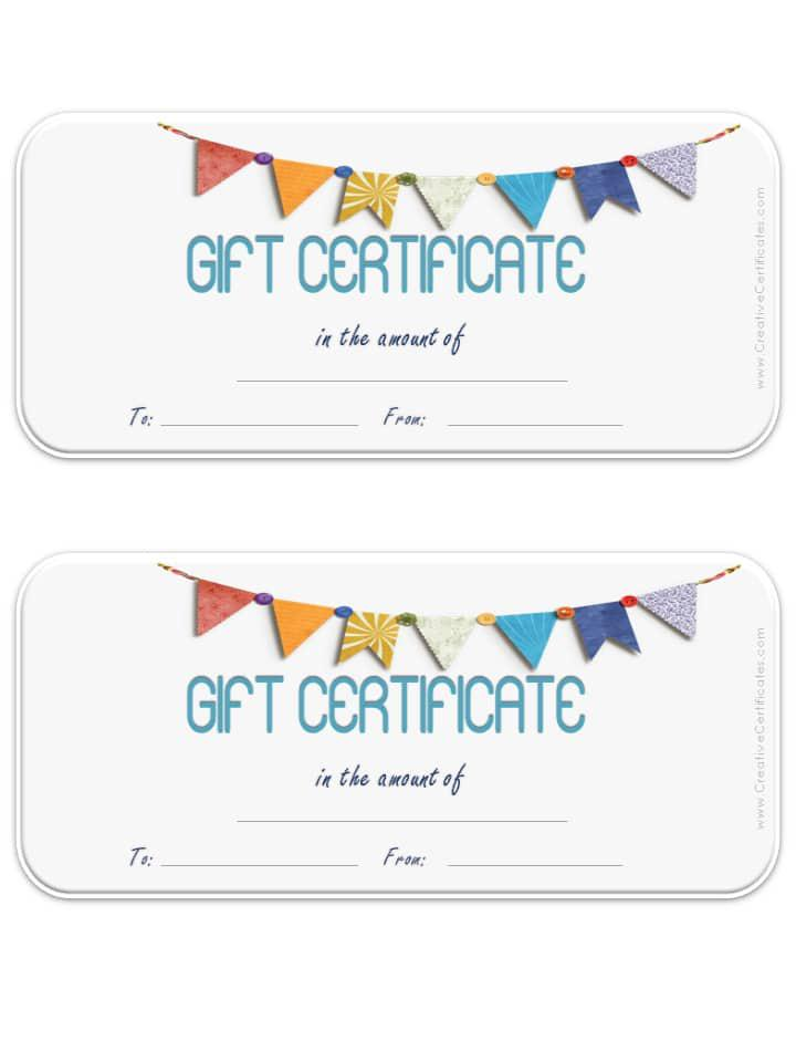 12 Photography Gift Certificate Template Free Download