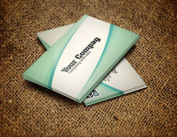 Sample Business Card PSD Template