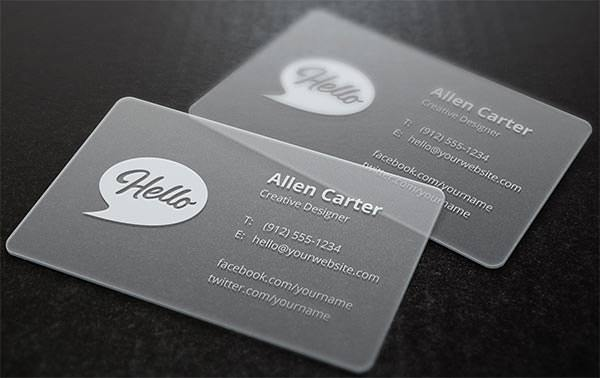 Sample Business Card Templates Free