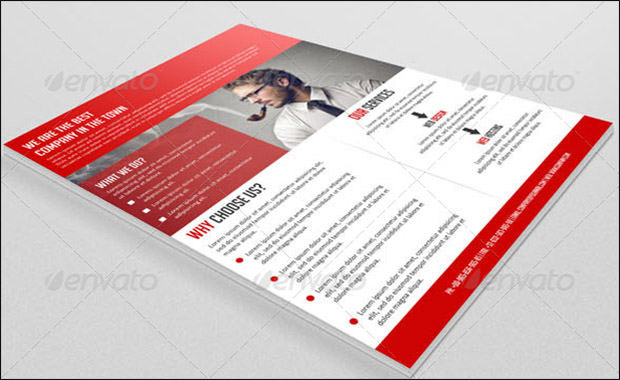 Sample Business Flyer Template