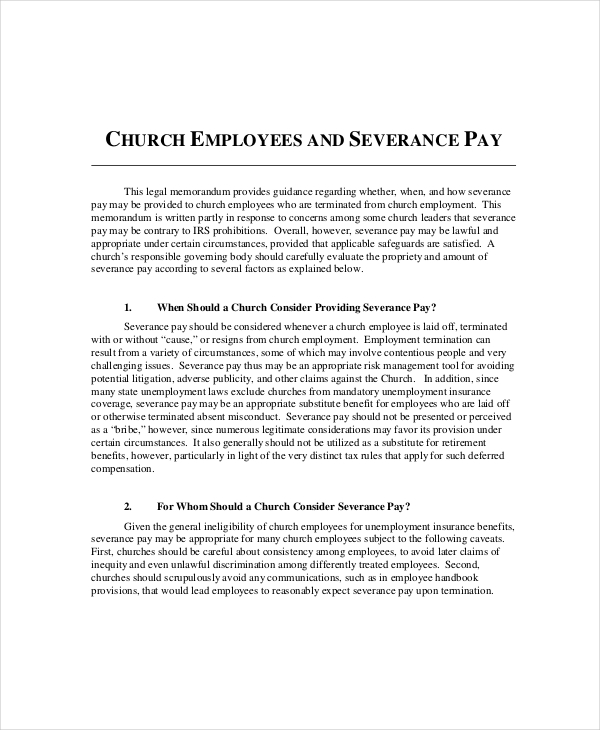 Sample Church Employee Confidentiality Agreement
