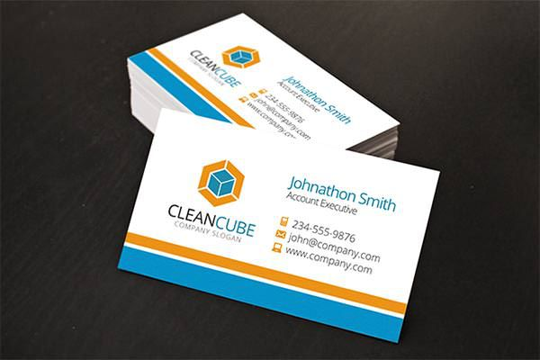 Sample Corporate Business Card Templates