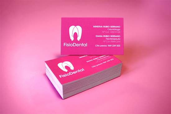 Sample Dental Business Card