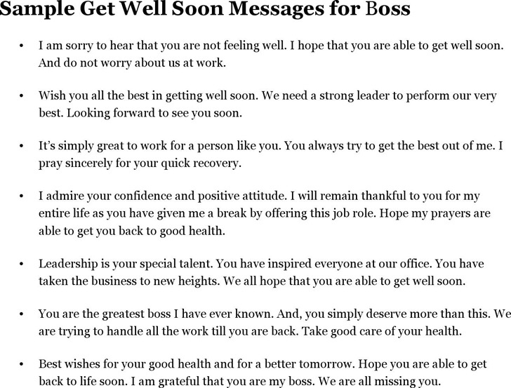 4 get well soon message free download