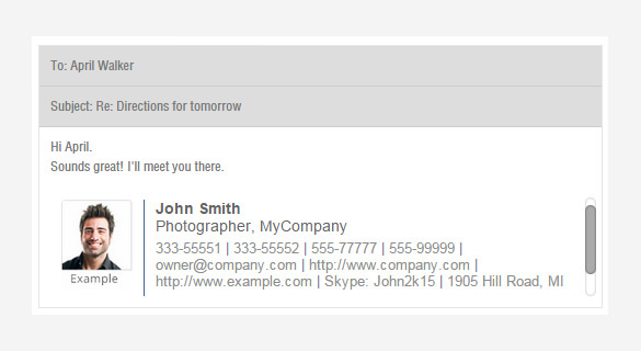 20  gmail signature templates free download