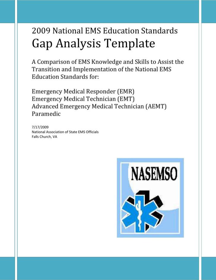 Sample Medical Education Gap Analysis