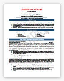 Sample Military Resume Template