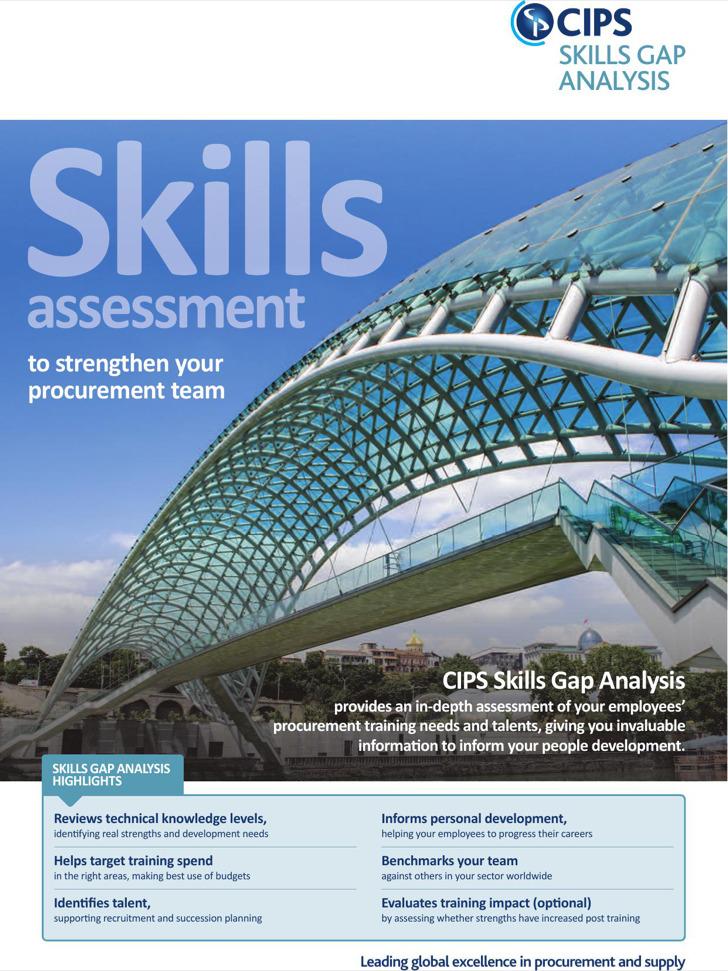 Sample Personal Skills Gap Analysis