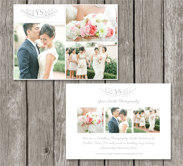 Sample Photography Marketing Card Template