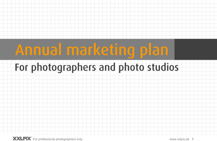 Sample Photography Marketing Strategy Template