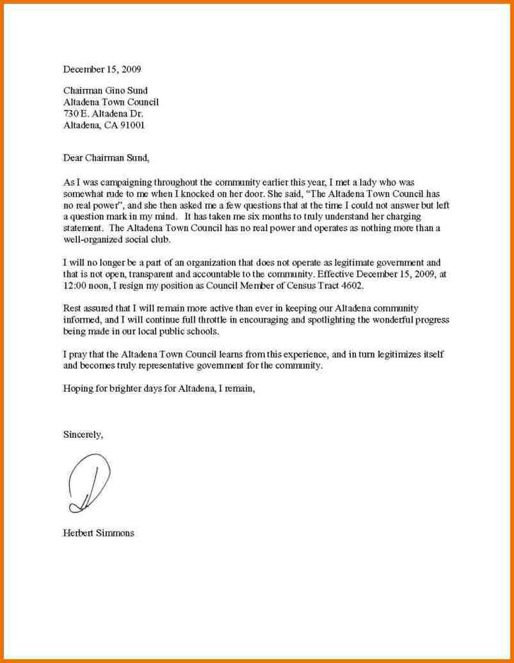 Sample Resignation Acknowledgement Letter