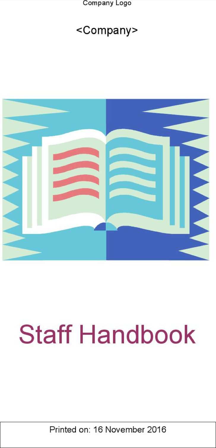 Sample Staff Handbook Template
