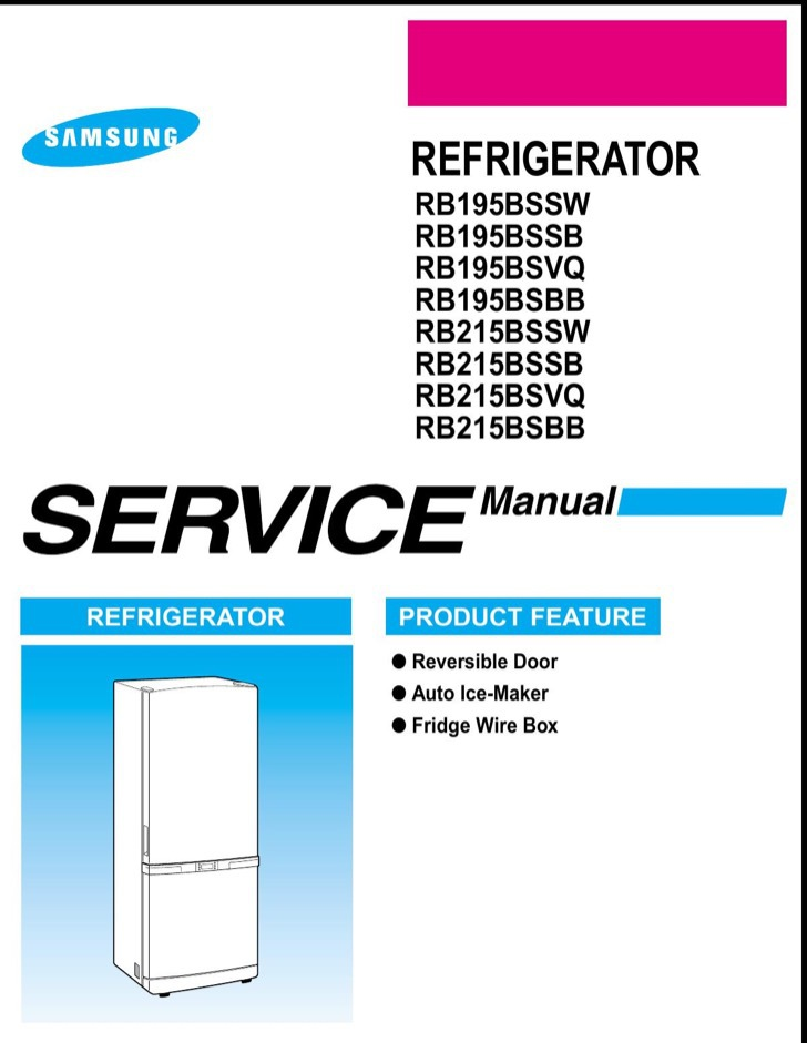 Samsung Service Manual Sample