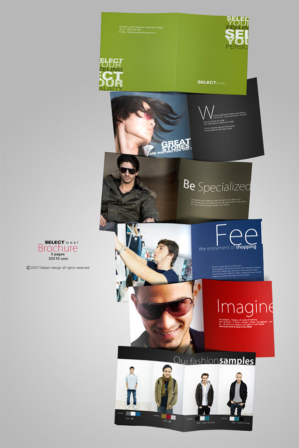 SELECT Fashion PSD Brochure
