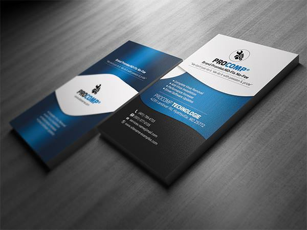 Services Business Card