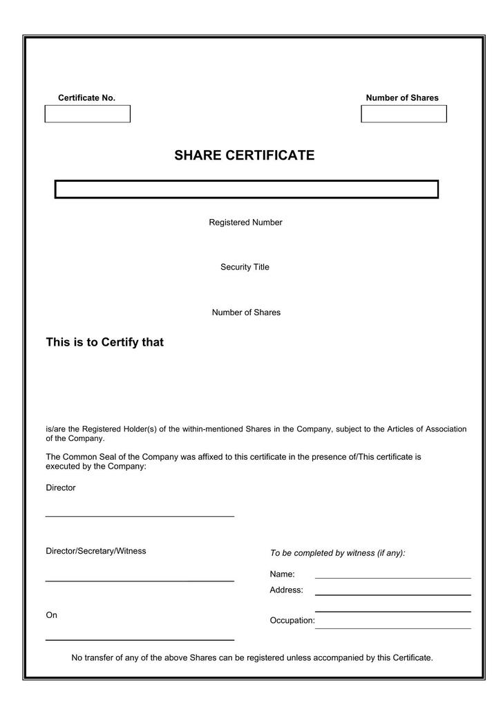 21 share stock certificate template free download share certificate template free pdf maxwellsz