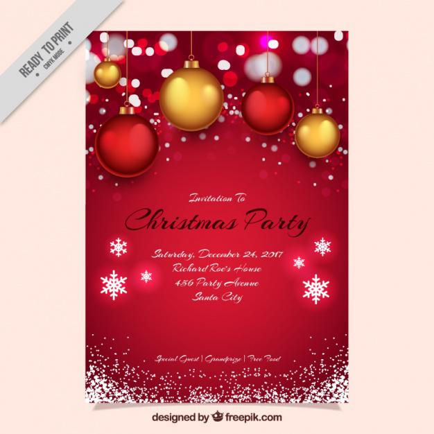 Shining Symbol Photo Christmas Card Template Editable