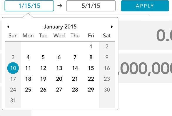 Shipping Date Picker Calendar HTML Format Download