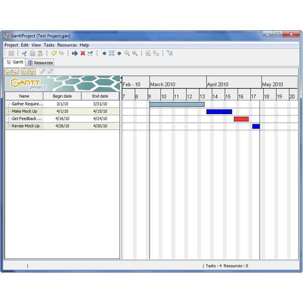 Simple Gantt Chart Generator Tool