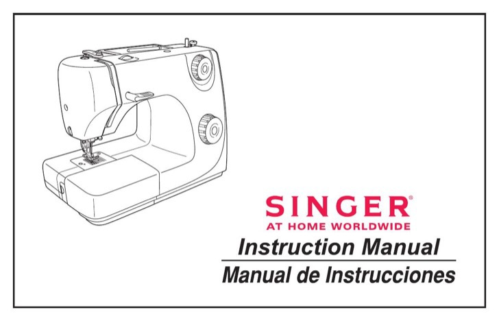 Singer Instruction Manual Sample