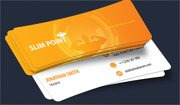 Slim Business Card Template