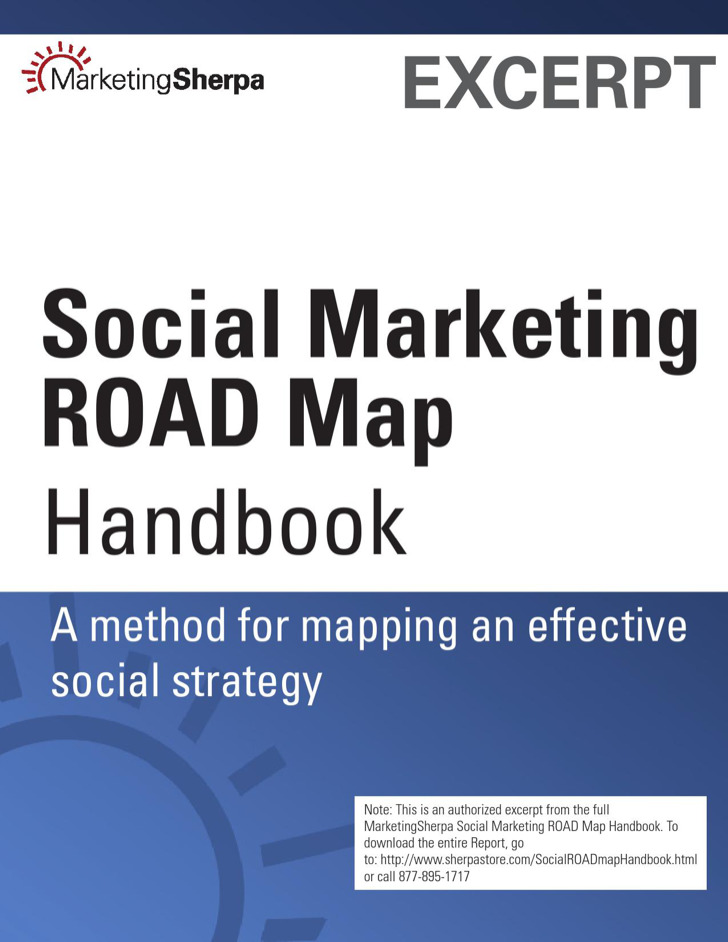 Social Marketing Road Map Handbook