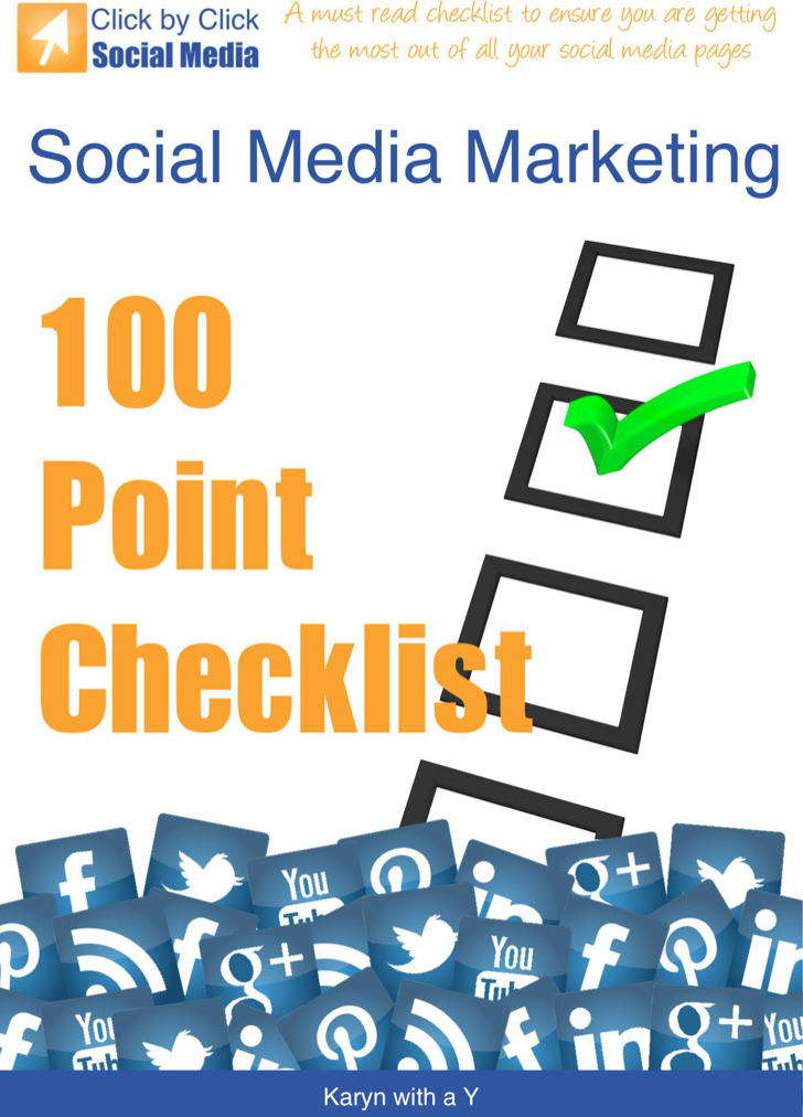 Social Media Marketing Checklist Template
