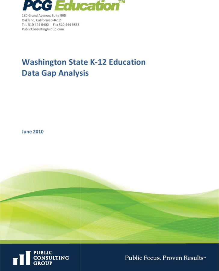 Software Data Gap Analysis Final Report