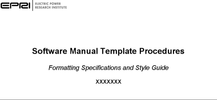 Software User Manual Template