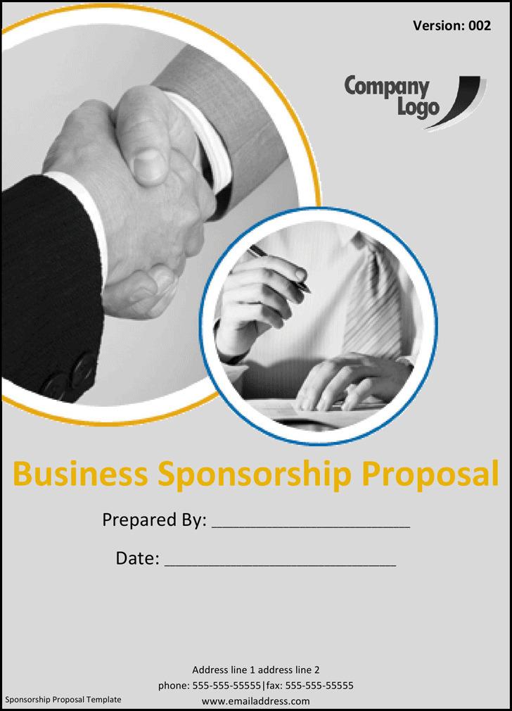 Business Sponsorship Proposal