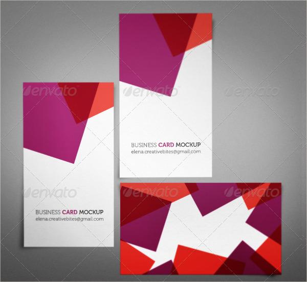 Spot Uv Square Business Card