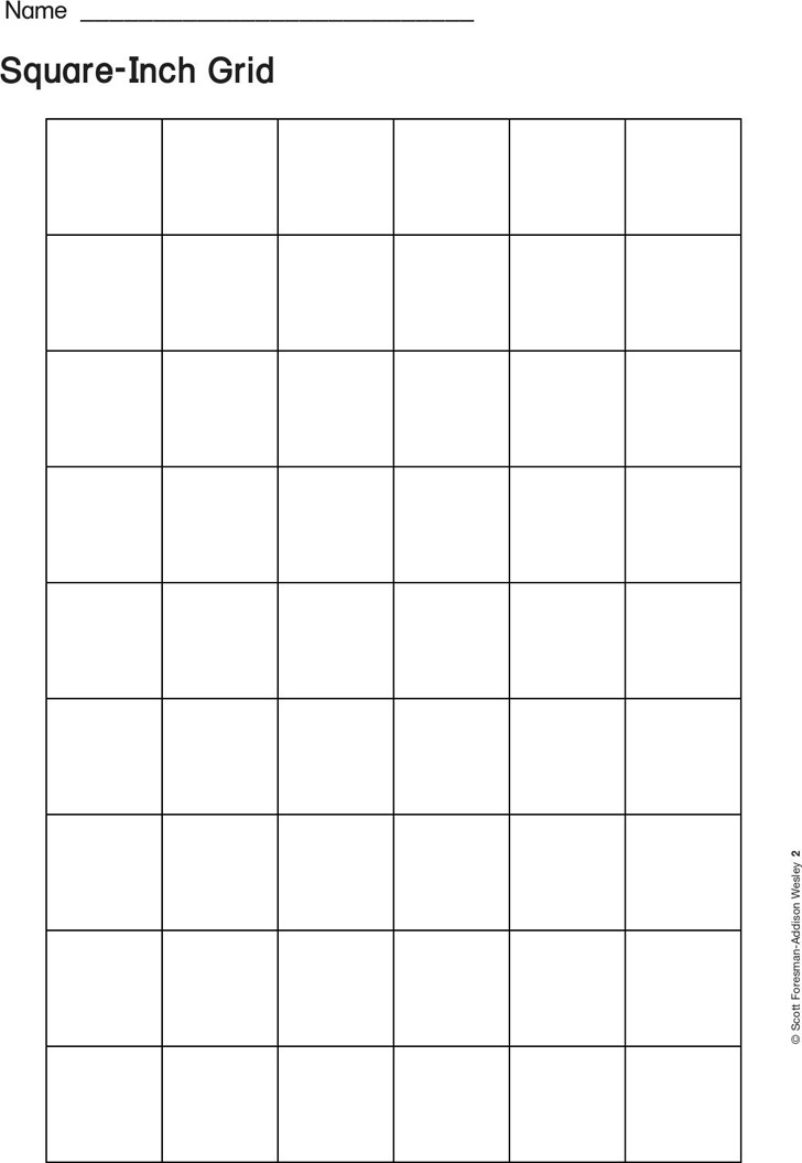 Square-Inch Grid