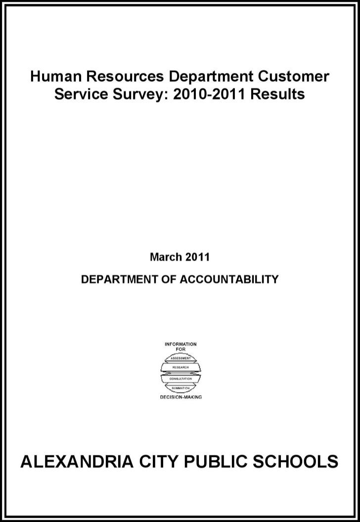 Staff Survey Form