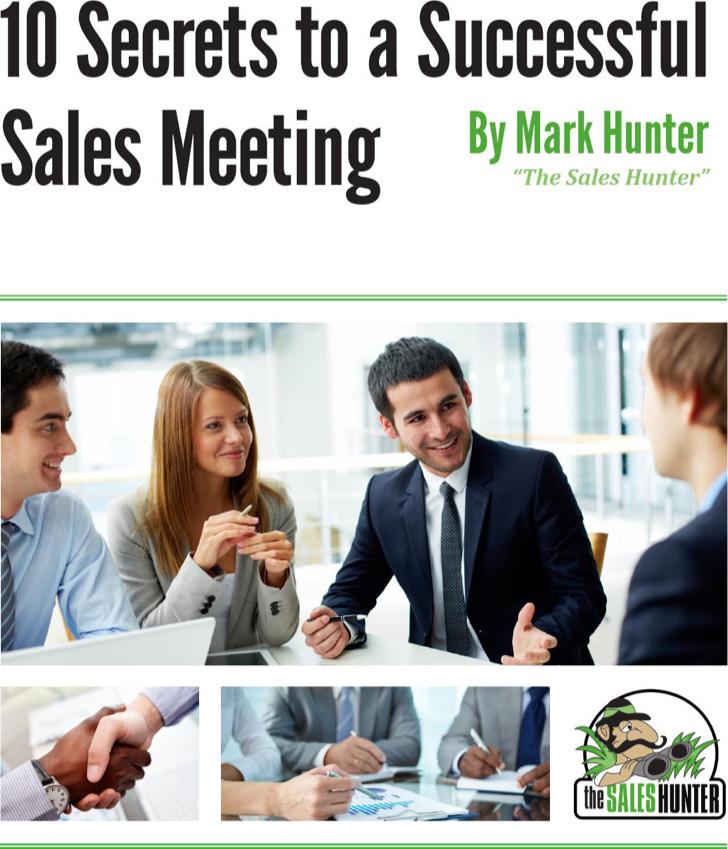 Steps For Sales Meeting Agenda