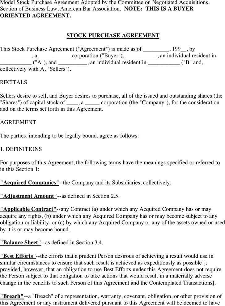 Stock Purchase Agreement 2