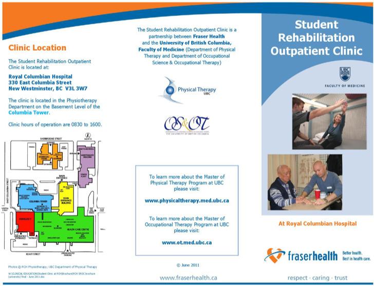 Student Rehabilitation Outpatient Clinic