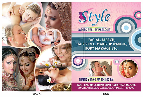Style Ladies Beauty Parlour Brochure