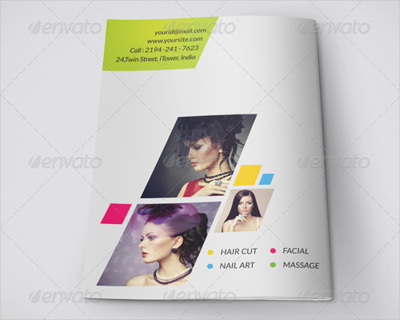 Stylish & Modern Bifold Brochure Template