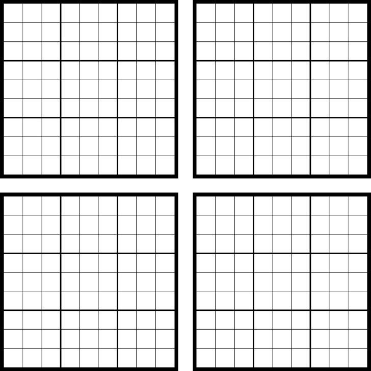 photograph regarding Printable Sudoku Grid named printable sudoku -