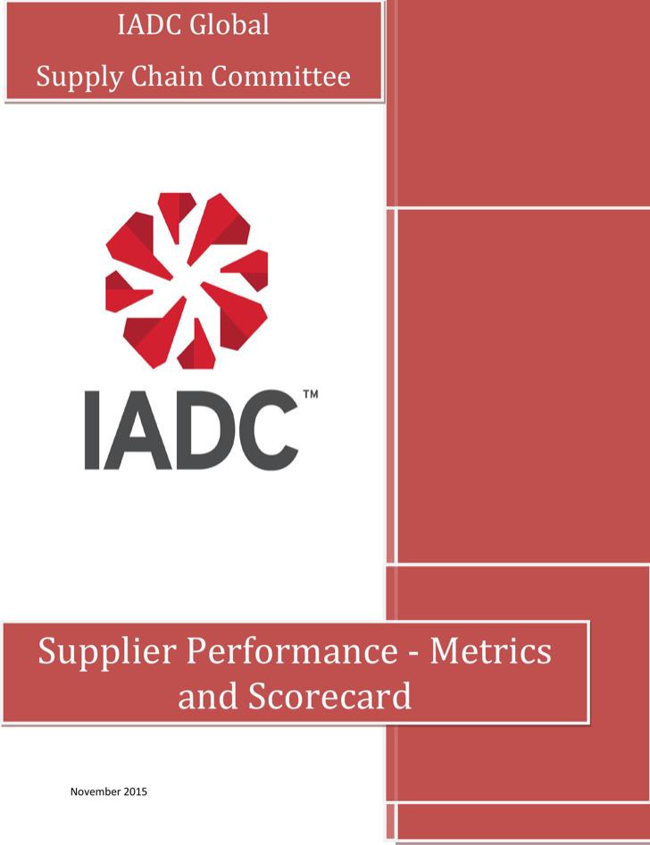Supplier Performance Scorecard Sample0A