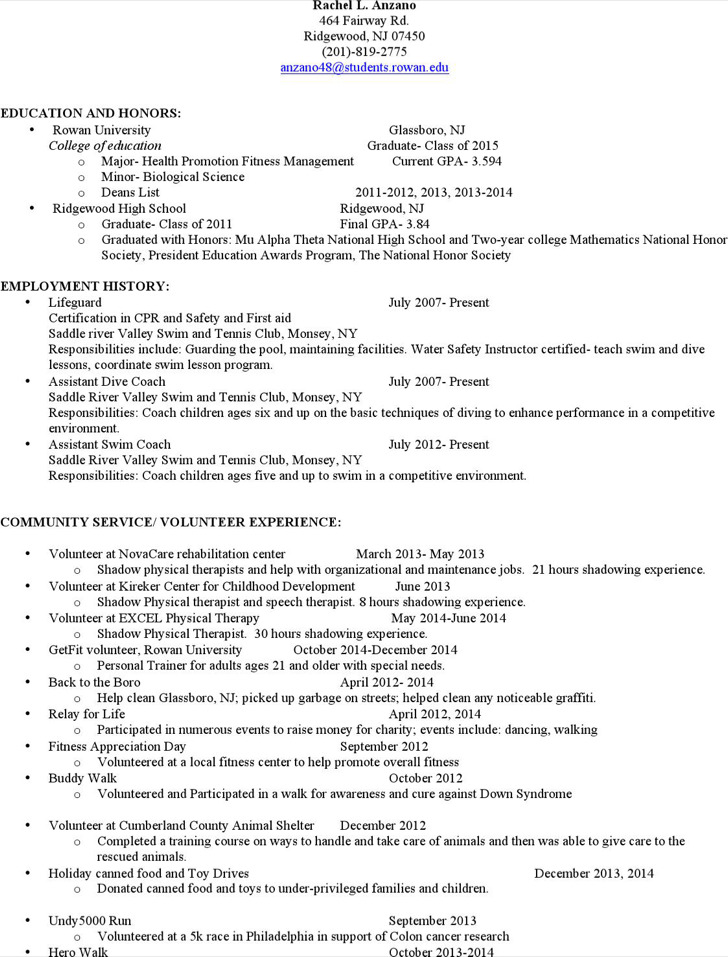 6  coach resume templates free download