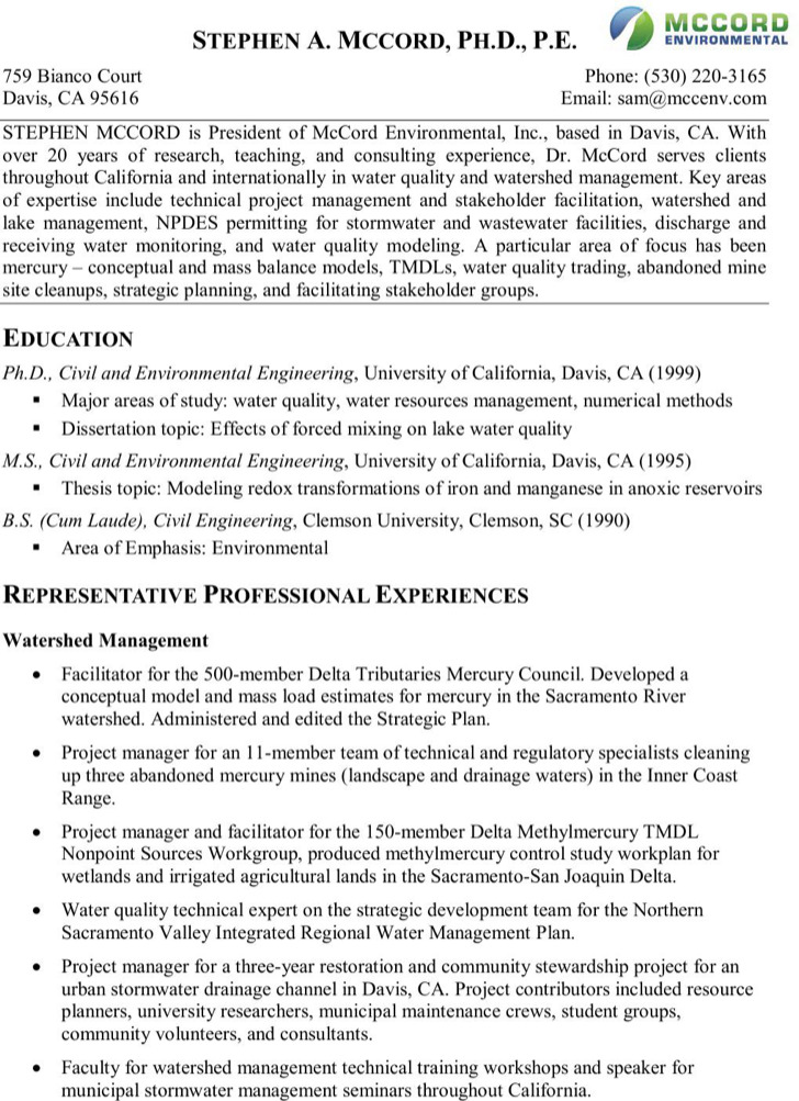 Technical Project Manager Resume Pdf Download