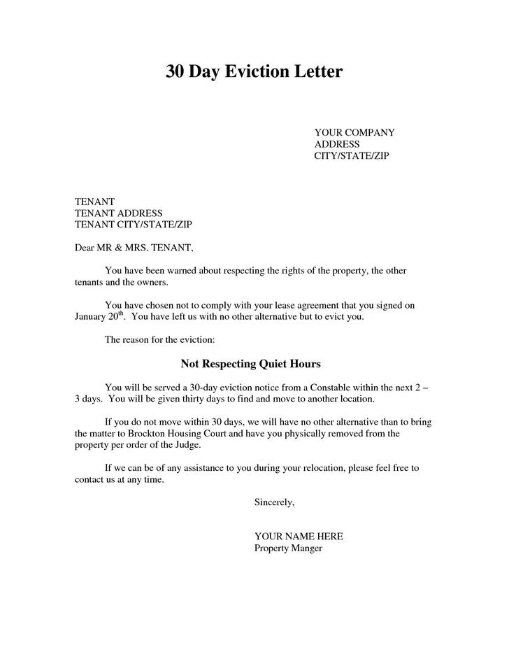 25 Eviction Notice Template Free Download