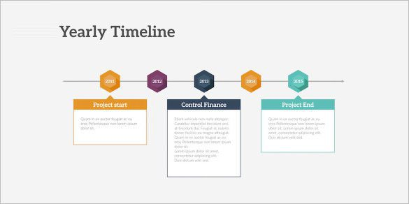 Timeline Maker Keynote Template Sample