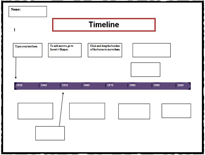 Download Timeline Templates For Free TidyTemplates - Timeline templates for mac