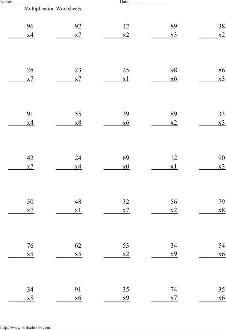 Times Table Chart Free Download