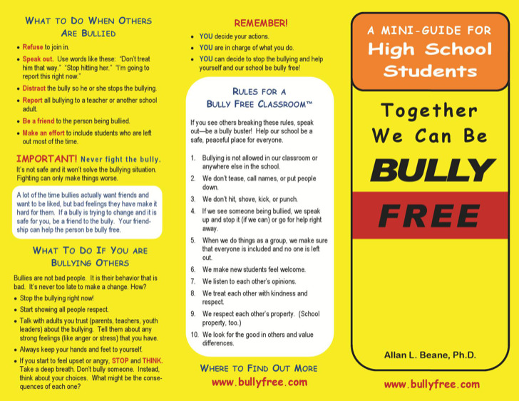 Together We Can Be Bully Free