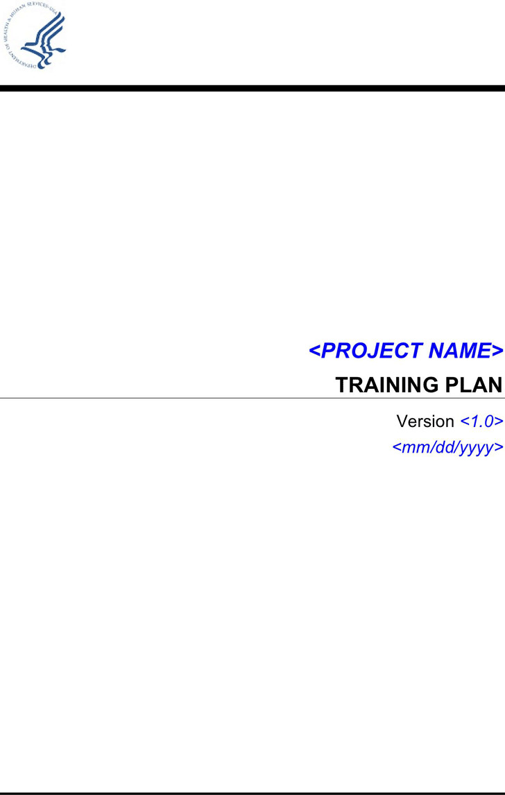 Project Training Plan